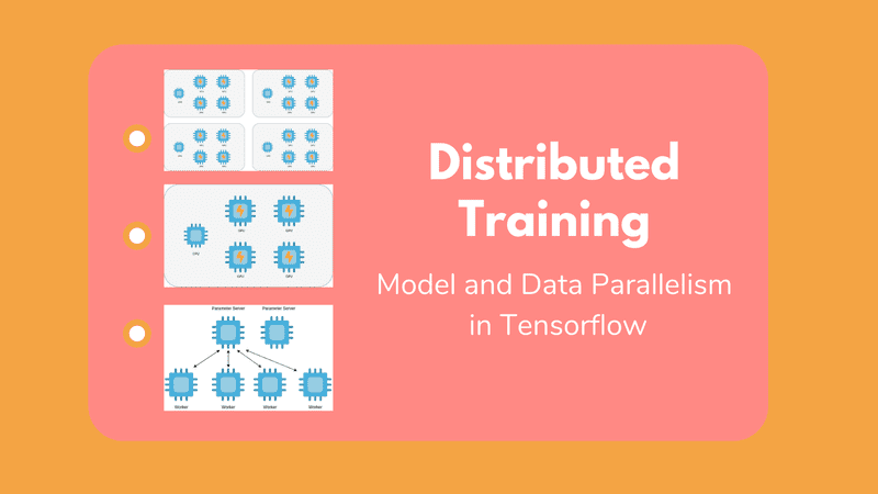 Distributed Deep Learning training: Model and Data Parallelism in Tensorflow