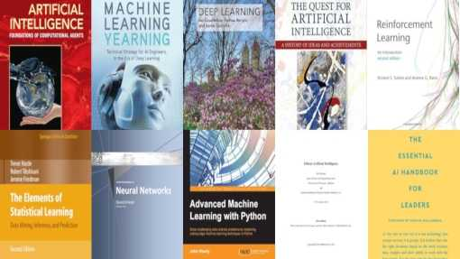 The Best Machine Learning books to learn AI